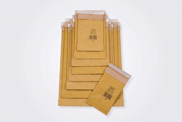 Papierpolstertasche Innenmaß 170 x 250 mm, DIN A5 - 100 % Papier