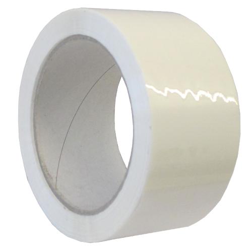 Klebeband 50 mm x 66 lfm. - PVC weiß