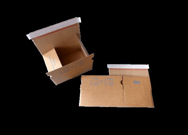 230 x 160 x 80 mm Blitzbodenkarton Packfix PF30
