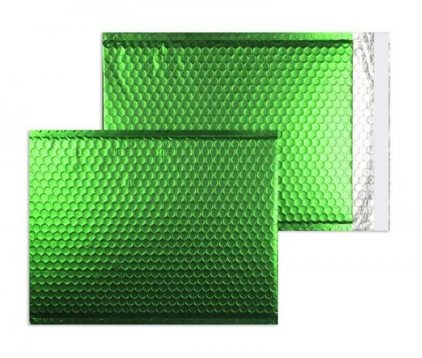 Luftpolstertaschen grün matt - 200 x 250 mm - 10 Stück