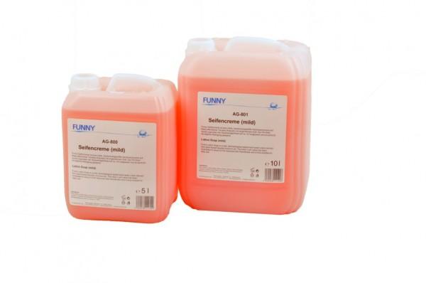 Seifencreme - rosa - 5l Kanister