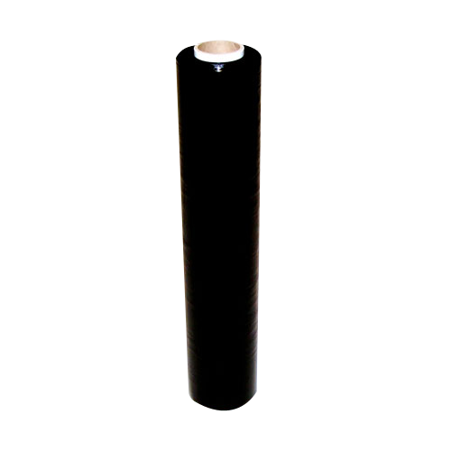 Handstretchfolie 23 µ - Breite 500 mm - ca. 300 lfm. schwarz