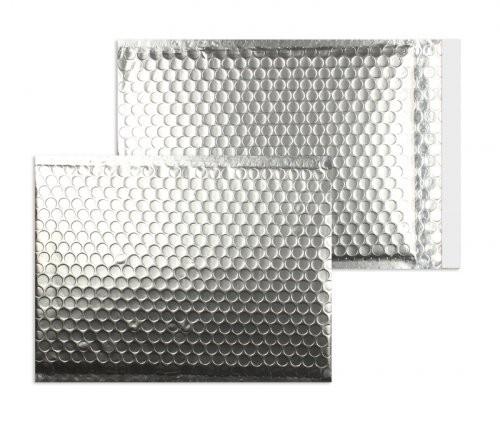 Luftpolstertaschen silber matt 250 x 334 mm DIN A4 - 10 Stück