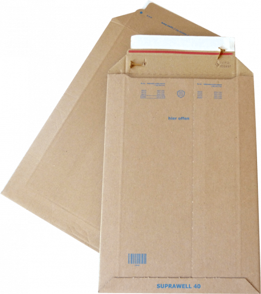 .SW40 Versandtasche WP DIN A4 250 x 353 mm - Groß-/Maxibrief-Größe Außenmaß