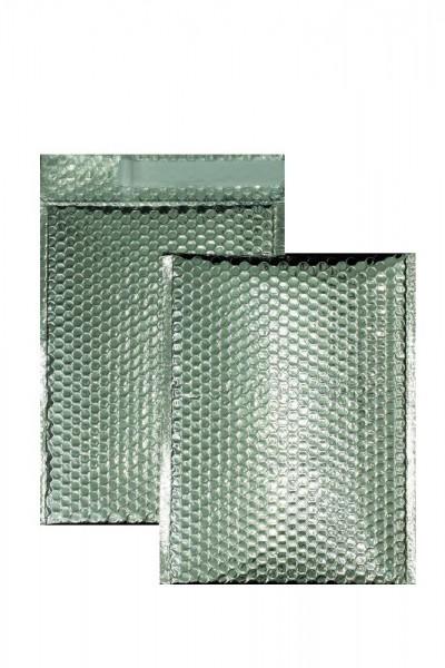 Luftpolstertaschen silber glänzend - 340 x 460 mm - 10 Stück